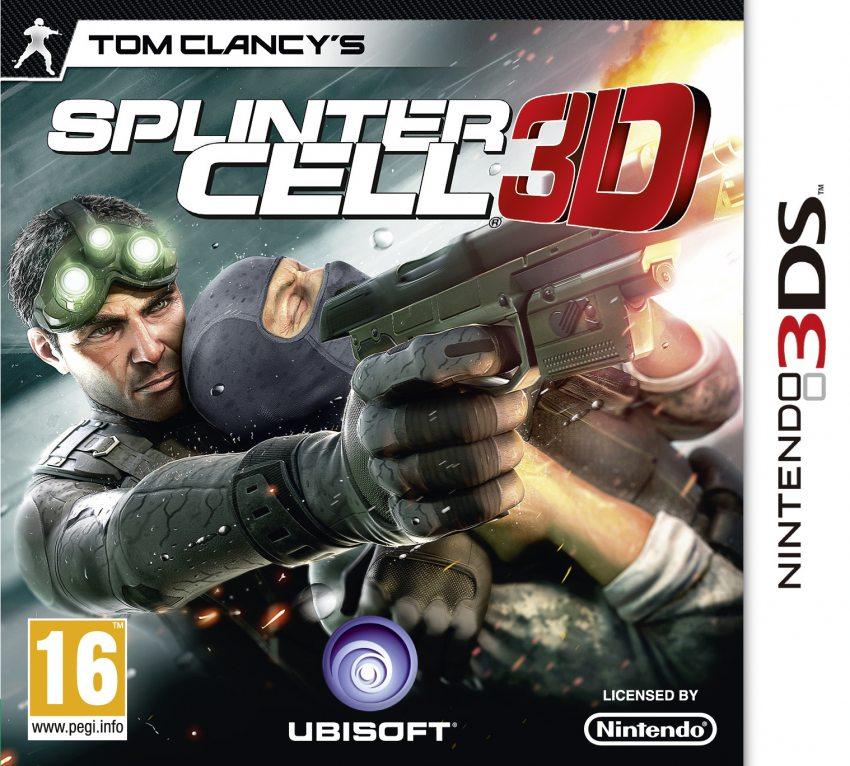 Splinter Cell 3D for the Nintendo 3DS   High-Tech Monster